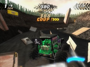 Test Monster Jam PlayStation 2 - Screenshot 1