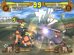 Naruto Shippuden : Ultimate Ninja 5 PlayStation 2