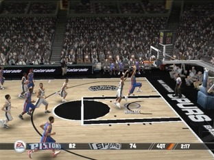Test NBA Live 08 PlayStation 2 - Screenshot 1