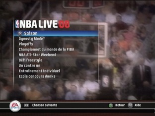 Test NBA Live 08 PlayStation 2 - Screenshot 2