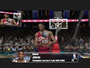 Test NBA Live 08 PlayStation 2 - Screenshot 3