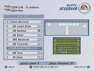 Test Madden NFL 2003 PlayStation 2 - Screenshot 3