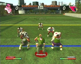 Test NFL Street PlayStation 2 - Screenshot 13