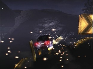 Test Need For Speed Carbon PlayStation 2 - Screenshot 2