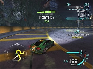Test Need For Speed Carbon PlayStation 2 - Screenshot 3