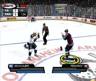Test ESPN NHL 2K5 PlayStation 2 - Screenshot 30