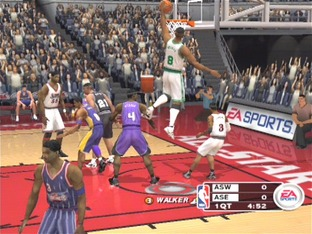 Test NBA Live 2003 PlayStation 2 - Screenshot 1