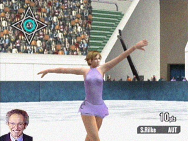 Nelson Monfort's Ice Skating