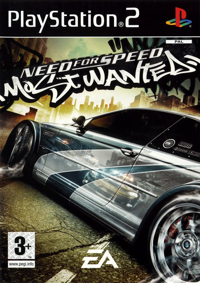 need for speed most wanted sur playstation 2. Black Bedroom Furniture Sets. Home Design Ideas