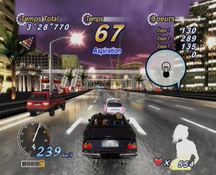Test OutRun 2006 : Coast To Coast PlayStation 2 - Screenshot 22