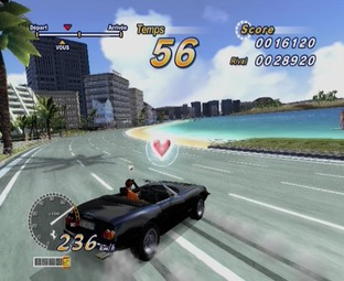 Test OutRun 2006 : Coast To Coast PlayStation 2 - Screenshot 23