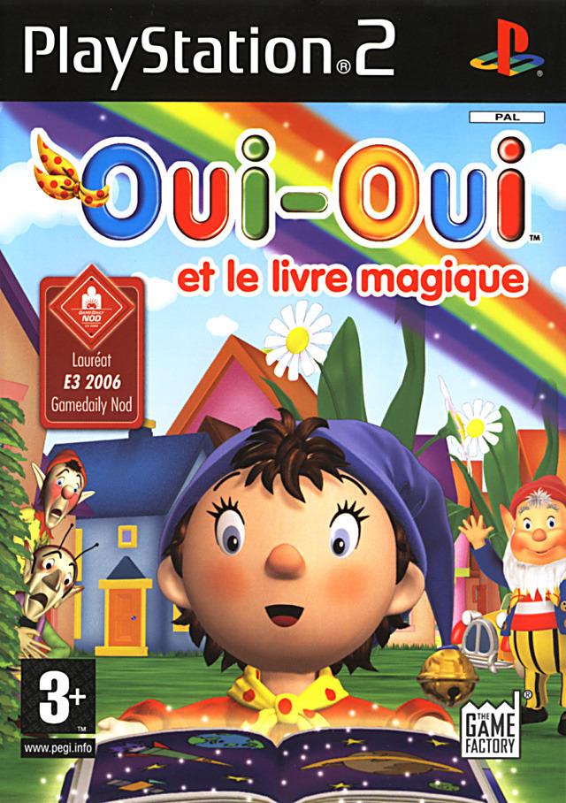 Oui oui et le livre magique sur playstation 2 - Oui oui et le train ...