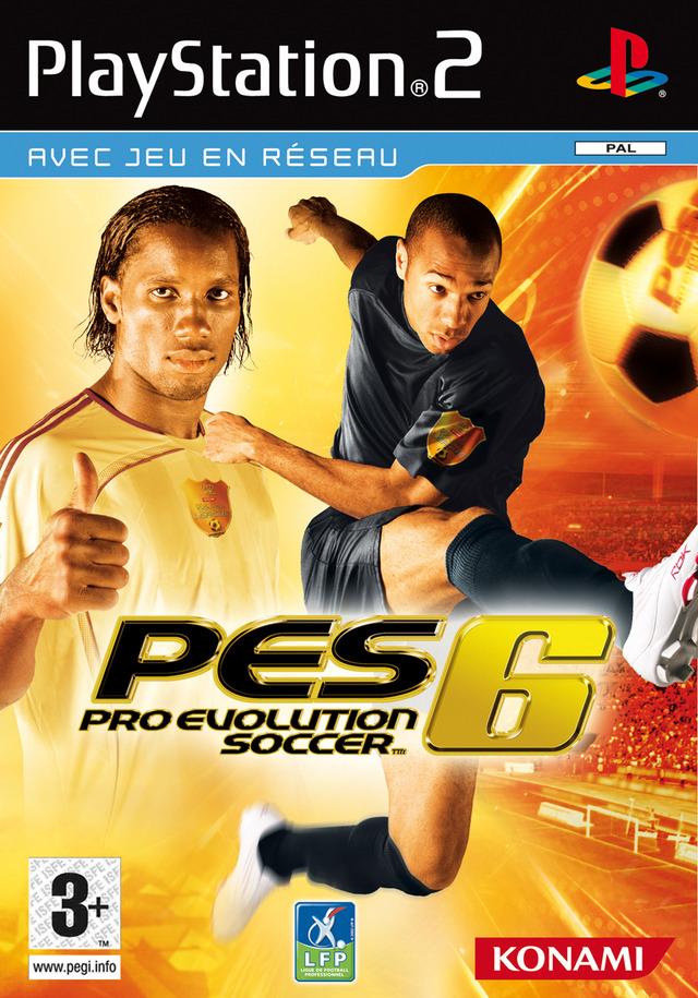 Pro évolution soccer 6 Pes6p20f