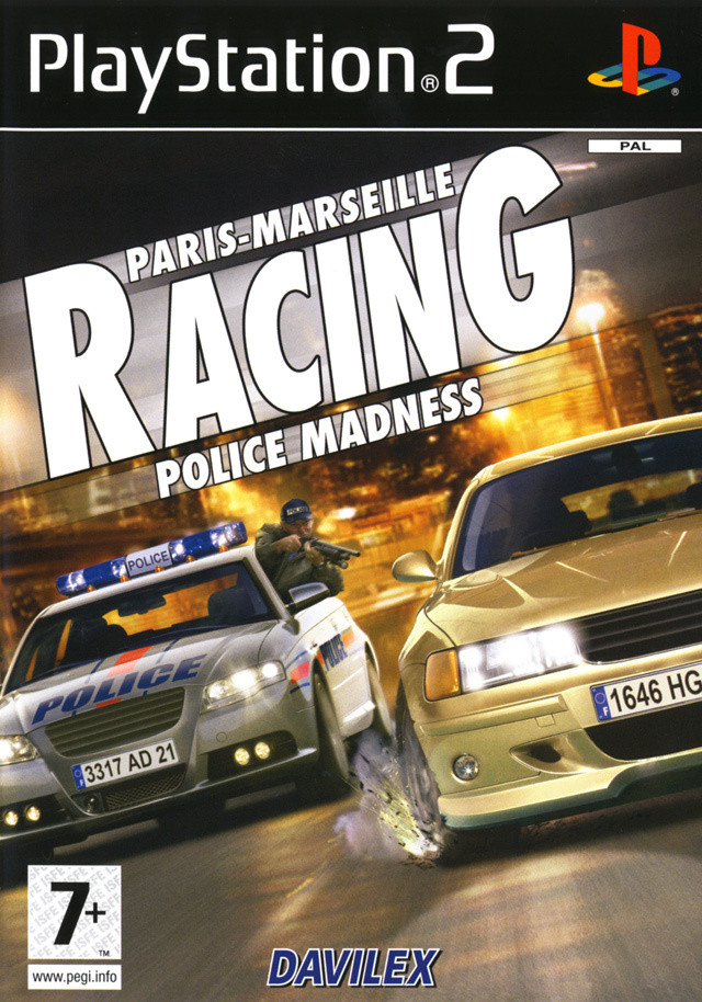 paris marseille racing police madness sur playstation 2. Black Bedroom Furniture Sets. Home Design Ideas