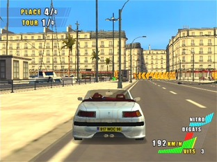 Test Paris-Marseille Racing 2 PlayStation 2 - Screenshot 1