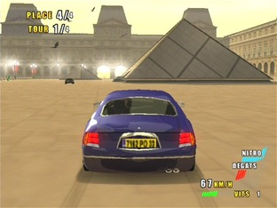 Test Paris-Marseille Racing 2 PlayStation 2 - Screenshot 2