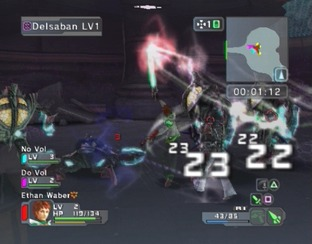 Test Phantasy Star Universe PlayStation 2 - Screenshot 108