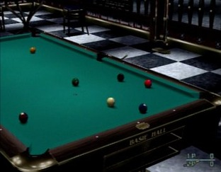 Test Q-Ball : Billard Master PlayStation 2 - Screenshot 1
