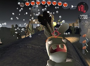 Test Rayman Contre Les Lapins Cretins PlayStation 2 - Screenshot 1