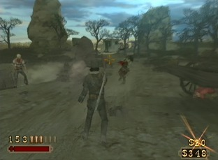 Test Red Dead Revolver PlayStation 2 - Screenshot 45