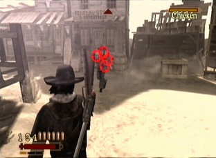 Test Red Dead Revolver PlayStation 2 - Screenshot 46