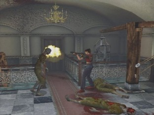 Test Resident Evil : Code Veronica X PlayStation 2 - Screenshot 3