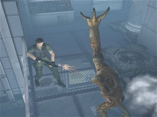 Test Resident Evil : Code Veronica X PlayStation 2 - Screenshot 5