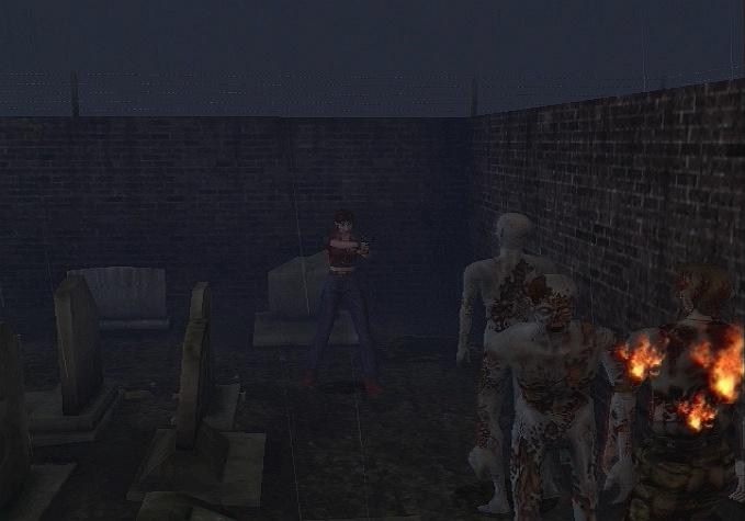 Biohazard : Code Veronica X (Resident Evil : Code Veronica X) Resident-evil-code-veronica-x-playstation-2-ps2-045