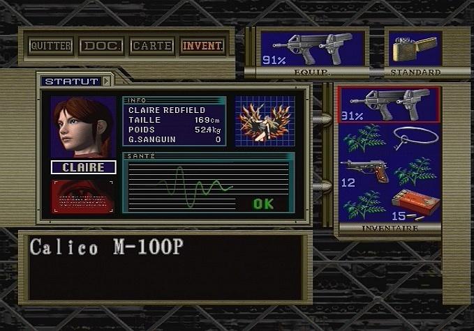 Biohazard : Code Veronica X (Resident Evil : Code Veronica X) Resident-evil-code-veronica-x-playstation-2-ps2-047