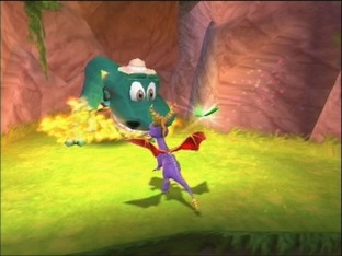 Test Spyro : Enter The Dragonfly PlayStation 2 - Screenshot 1