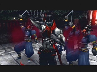 Test Shinobi PlayStation 2 - Screenshot 21