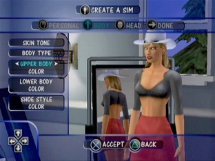 Test Les Sims PlayStation 2 - Screenshot 12