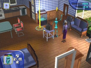 Test Les Sims PlayStation 2 - Screenshot 15