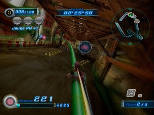 Test Sonic Riders Zero Gravity PlayStation 2 - Screenshot 19