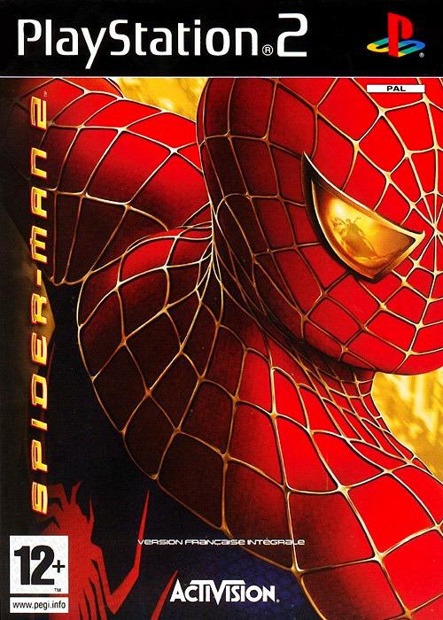 Pochette PS2 de Spider-Man 2