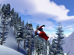 Test SSX PlayStation 2 - Screenshot 1