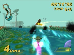 Test Star Wars : Super Bombad Racing PlayStation 2 - Screenshot 12