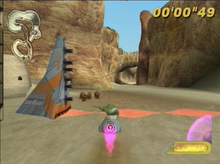 Test Star Wars : Super Bombad Racing PlayStation 2 - Screenshot 14