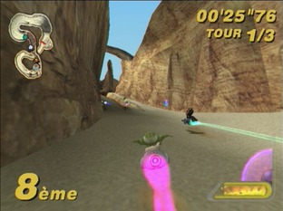 Test Star Wars : Super Bombad Racing PlayStation 2 - Screenshot 16