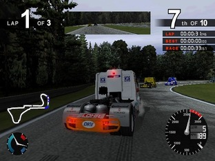 Test Super Trucks PlayStation 2 - Screenshot 2