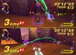Test Star Wars : Super Bombad Racing PlayStation 2 - Screenshot 6