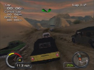 Test Test Drive Off-Road Wide Open PlayStation 2 - Screenshot