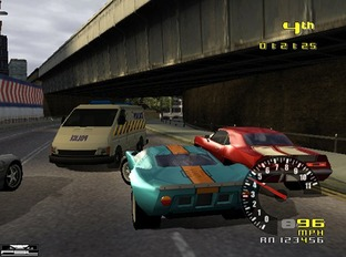 Test TD Overdrive PlayStation 2 - Screenshot 7