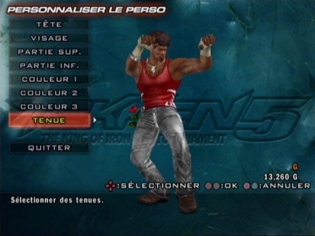 jeuxvideo.com Tekken 5 - PlayStation 2 Image 301 sur 404