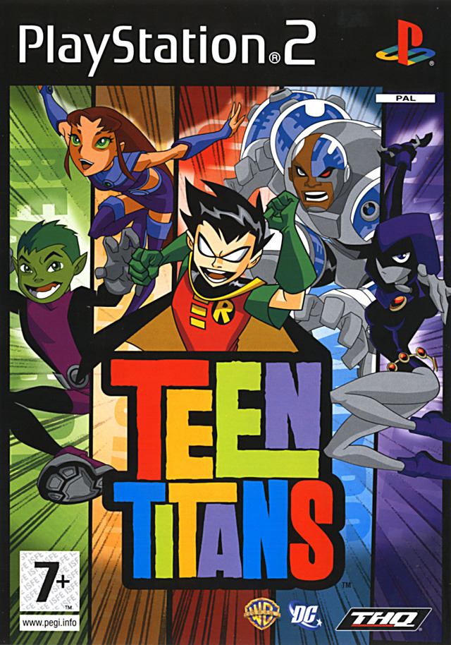 Teen Titans Playstation 111