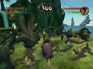 Test Tak : The Great Juju Challenge PlayStation 2 - Screenshot 2