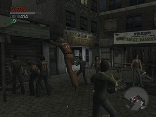 Test The Warriors PlayStation 2 - Screenshot 86