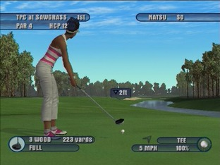 Test Tiger Woods PGA Tour 2003 PlayStation 2 - Screenshot 16