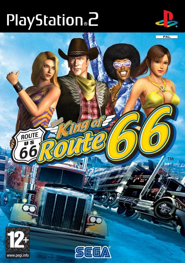 66 18 Adults Only 2017: The King Of Route 66 Sur PlayStation 2