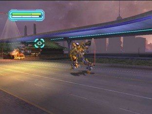 Test Transformers : la Revanche PlayStation 2 - Screenshot 5